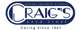 Logo of Craig's Drug Store